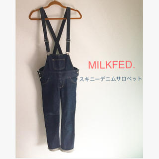 ミルクフェド(MILKFED.)のMILKFED./スキニーサロペット(サロペット/オーバーオール)
