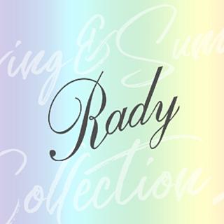 レディー(Rady)の♡Rady♡バイカラーアンサンブル♡ライトブルー×オフホワイト(アンサンブル)