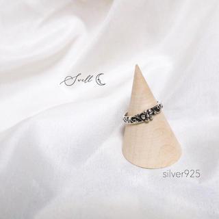 アングリッド(Ungrid)のトゥーリング ピンキーリング silver925(リング(指輪))