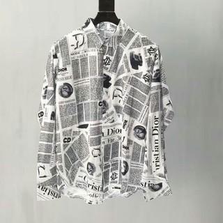 ディオール(Dior)の素敵❤️Dior 大人気 ディオール カジュアル シャツ 男女通用(シャツ)
