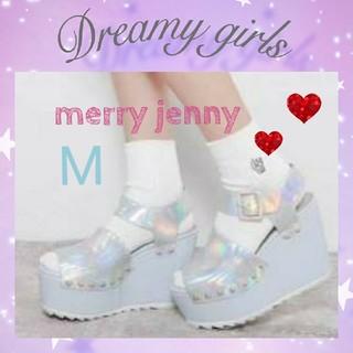 メリージェニー(merry jenny)の♥merry jenny ブルーサンダル(サンダル)