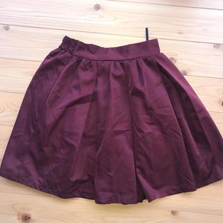 ハニーズ(HONEYS)のレディース チュールスカート  スカート ワインレッド ワイン(ひざ丈スカート)