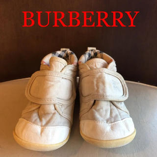 BURBERRY - BURBERRY ベビーシューズ 13cm