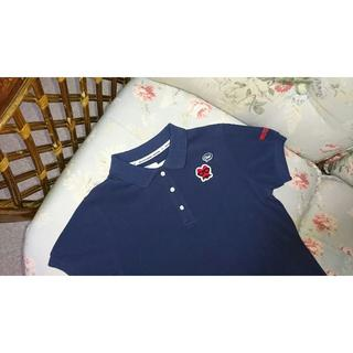 パーリーゲイツ(PEARLY GATES)の新品☆PEARLY GATES パーリーゲイツ  半袖ポロシャツ 1 紺(ウエア)