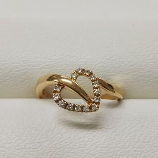 ヴァンドームアオヤマ(Vendome Aoyama)のK18 ダイヤモンド リング  ヴァンドーム青山(リング(指輪))