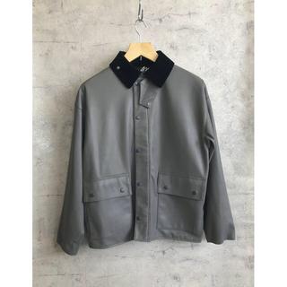 DELUXE - 【L】シンセティックレザー・ハンティングジャケット