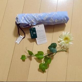 アフタヌーンティー(AfternoonTea)の新品タグつき♡晴雨両用傘 日傘 雨傘 折りたたみ傘(傘)