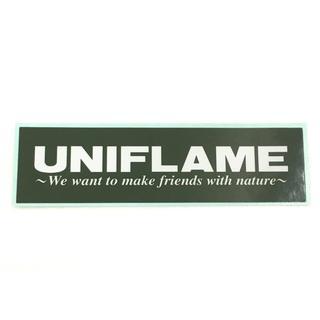 ユニフレーム(UNIFLAME)のユニフレーム ステッカー 非売品  正規品(その他)