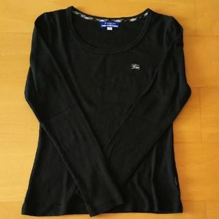 バーバリーブルーレーベル(BURBERRY BLUE LABEL)のBURBERRYブラックロンT(Tシャツ(長袖/七分))