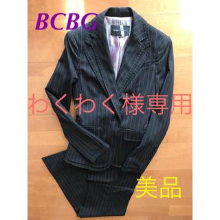 ビーシービージーマックスアズリア(BCBGMAXAZRIA)のBCBG パンツスーツ XXS(スーツ)