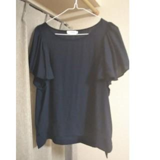 レプシィム(LEPSIM)の夏物の服 紺色(Tシャツ(半袖/袖なし))