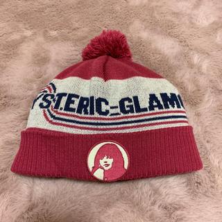 ヒステリックグラマー(HYSTERIC GLAMOUR)のHYSTERIC GLAMOUR ニット帽(ニット帽/ビーニー)