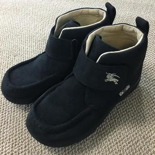 バーバリー(BURBERRY)の(22㎝)■バーバリー/BURBERRY■黒ブーツ(ブーツ)