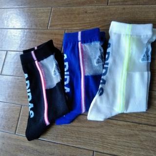 アディダス(adidas)の新品 ✧アディダス ✧SPORTY mix サポート入 靴下 3足セット(ソックス)