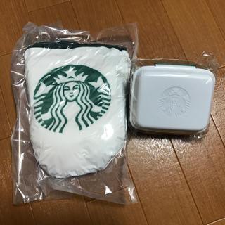 スターバックスコーヒー(Starbucks Coffee)のサイコロ様専用 スタバ☆ブランケット&サンドイッチボックス(その他)