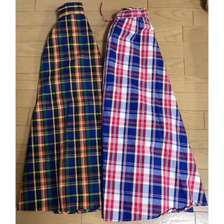 ロデオクラウンズワイドボウル(RODEO CROWNS WIDE BOWL)のマキシスカート2枚組(ロングスカート)