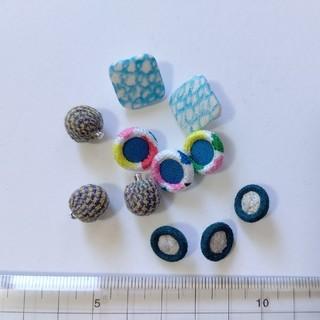 ミナペルホネン(mina perhonen)のミナペルホネン 布ボタン11個セット(各種パーツ)