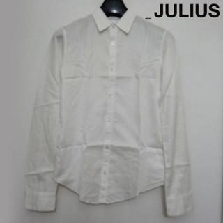 ユリウス(JULIUS)のJULIUS コットンサテン長袖シャツ 1 白 ホワイト 2006(シャツ)