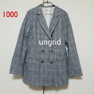 アングリッド(Ungrid)の1000♡ungrid ジャケット(テーラードジャケット)