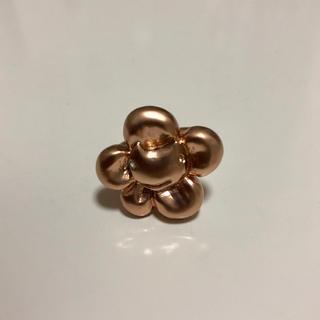 ツモリチサト(TSUMORI CHISATO)のツモリチサト リング ネコ フラワー ピンクゴールド(リング(指輪))