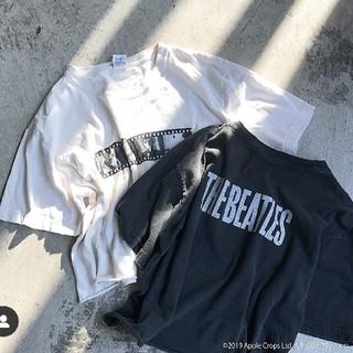 アメリヴィンテージ(Ameri VINTAGE)のvivicat様専用 THE BEATLES CUT OFF TEE アメリ(Tシャツ(半袖/袖なし))