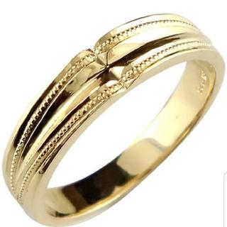 エスオーエスエフピー(S.O.S fp)のメンズリング18k.ジュエリー工房アトラス(リング(指輪))