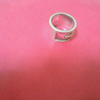グッチ(Gucci)のGUCCI ロゴリング 正規品(リング(指輪))
