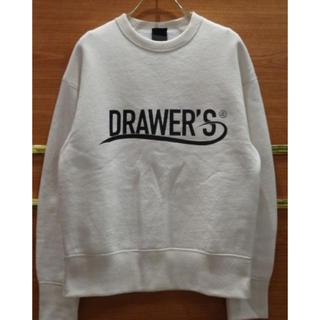 ドゥロワー(Drawer)の定価32,400円 drawer ドゥロワー ロゴ スウェット(トレーナー/スウェット)