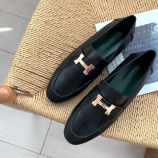 Hロゴ ローファー(ローファー/革靴)