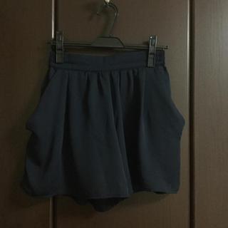 GU - GU ショートパンツ【ネイビー】