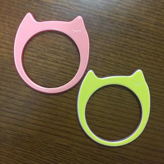 ツモリチサト(TSUMORI CHISATO)のツモリチサト 猫のバングル 2個セット(ブレスレット/バングル)