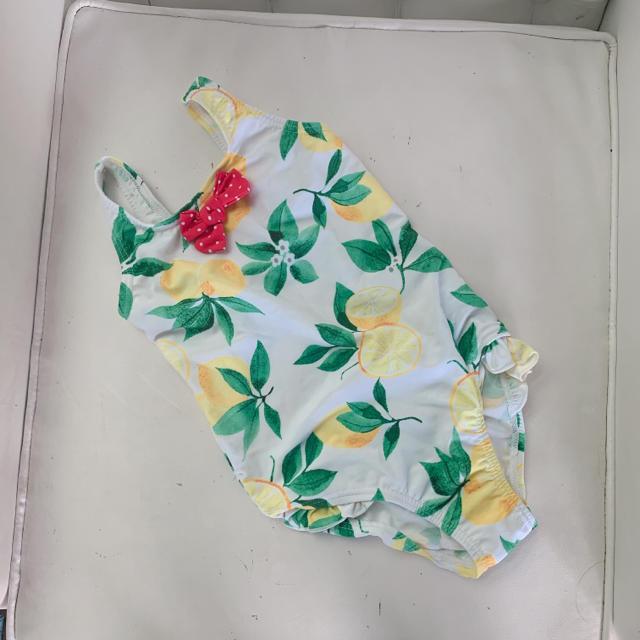 NEXT(ネクスト)のnext ネクスト 子供用 レモン柄水着 キッズ/ベビー/マタニティのキッズ服 女の子用(90cm~)(水着)の商品写真