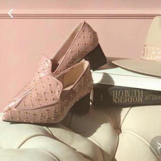 エイミーイストワール(eimy istoire)の♡くうちん様専用♡eimy istoire スタッズデザインローファー(ローファー/革靴)