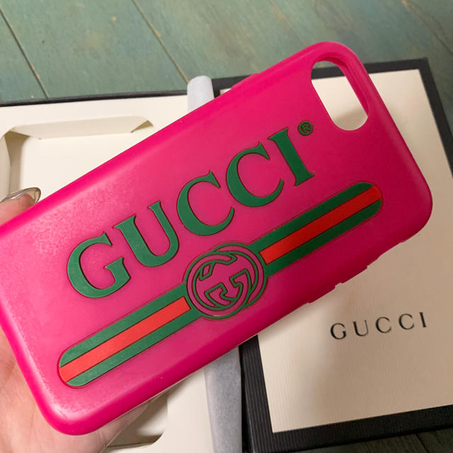 Gucci - 値引きOK GUCCI iPhoneケースの通販