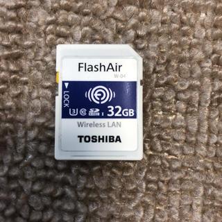 トウシバ(東芝)のFlashAir32GB(デジタル一眼)