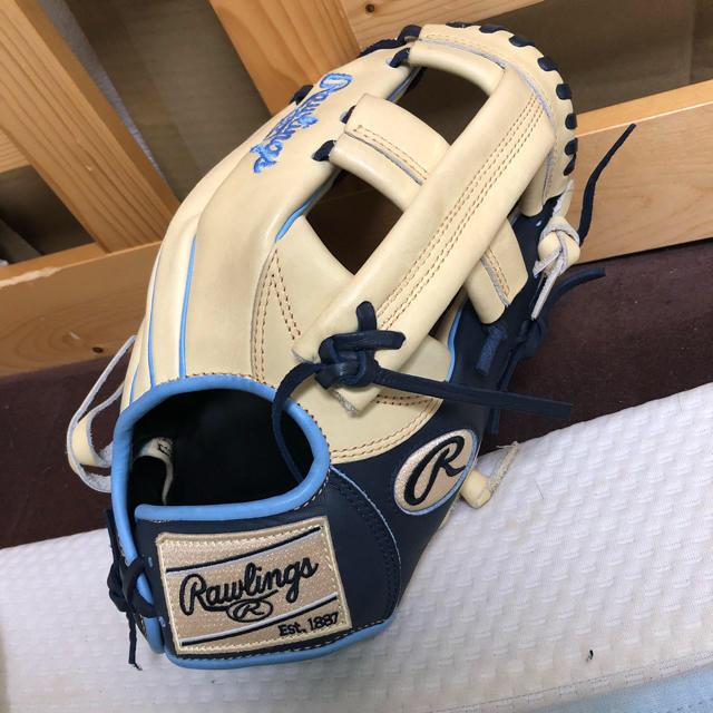 Rawlings(ローリングス)のローリングス 硬式グローブ 内野手用 スポーツ/アウトドアの野球(グローブ)の商品写真