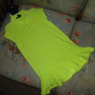 ラルフローレン(Ralph Lauren)の新品☆ラルフローレン ポロシャツ ワンピース 120(ワンピース)