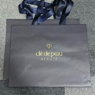 クレドポーボーテ(クレ・ド・ポー ボーテ)のクレドポーボーテ 紙袋 2枚セット(ショップ袋)