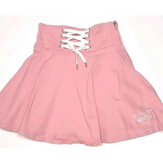 ピンクラテ(PINK-latte)のスカート 編み上げ(ミニスカート)