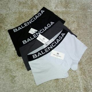 バレンシアガ(Balenciaga)の【BALENCIAGA】3点セット ボクサーパンツ Mサイズ バレンシアガ(ボクサーパンツ)