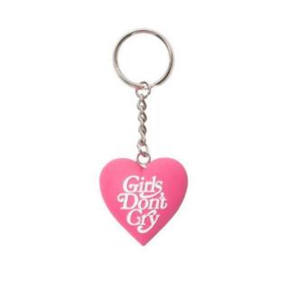 ジーディーシー(GDC)のgirls don't cry ガールズドントクライ キーホルダー ピンク(キーホルダー)