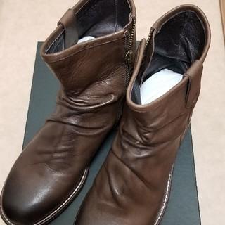 ユナイテッドアローズ(UNITED ARROWS)のユナイテッドアローズ ブーツ ショートブーツ 新品 未使用 革(ブーツ)