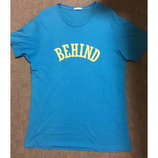 ジーユー(GU)の【GU】ジーユー★メンズ 半袖プリントTシャツ XL ブルー(Tシャツ/カットソー(半袖/袖なし))