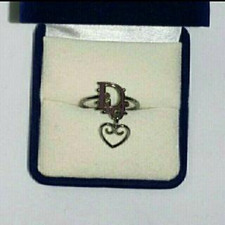 クリスチャンディオール(Christian Dior)のChristian Dior クリスチャン・ディオール ロゴ リング 指輪(リング(指輪))