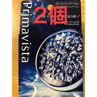 カオウ(花王)のプリマヴィスタ クリーミイファンデーション 01 スタイリッシュベージュ 20g(ファンデーション)
