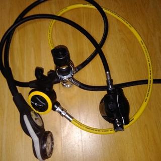 アクアラング(Aqua Lung)のレギュレーター(マリン/スイミング)