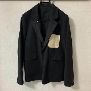 サンシー(SUNSEA)のSUNSEA 16SS Reversible SNM-G Jacket BK 1(テーラードジャケット)