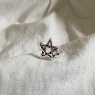 ハリウッドランチマーケット(HOLLYWOOD RANCH MARKET)の【再入荷】silver925 star ring * 2(リング(指輪))