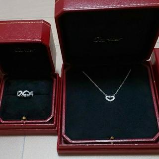 カルティエ(Cartier)のカルティエ ネックレス & カルティエリング(リング(指輪))