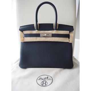 エルメス(Hermes)の新品未使用 エルメス バーキン30 ブルーニュイ トゴ シルバー金具 D刻印(ハンドバッグ)